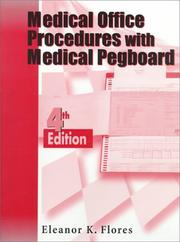 Cover of: Medical Office Procedures with Medical Pegboard-Complete Set | Eleanor K. Flores