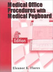 Cover of: Medical Office Procedures With Medical Pegboard | Eleanor K. Flores