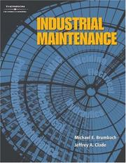Cover of: Industrial Maintenance | Michael Brumbach