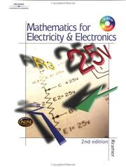 Cover of: Mathematics for Electricity & Electronics | Dr. Arthur Kramer