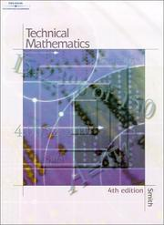 Cover of: Technical Mathematics by Robert D. Smith