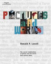 Cover of: Pictures and Words | Ronald Lovell