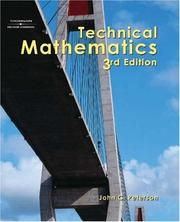 Cover of: Technical Mathematics | John C. Peterson