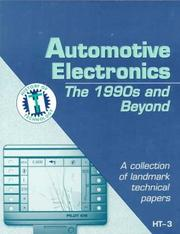 Cover of: Automotive Electronics by Ronald K. Jurgen