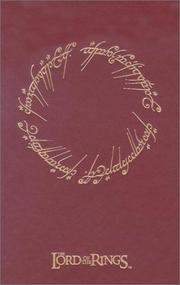 Cover of: The Lord of the Rings Journal | Cedco Publishing