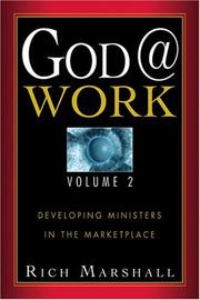 Cover of: God @ Work | Rich Marshall