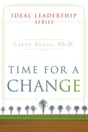 Cover of: Time for a Change | Larry Stout