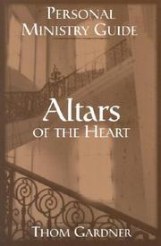Cover of: Altars of the Heart Study Guide | Thom Gardner