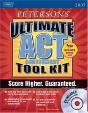 Cover of: Ultimate ACT Assessment Tool Kit  w/CD-Rom, 1st edition (Act Assessment Success) | Packer, Craig, et al. Bender