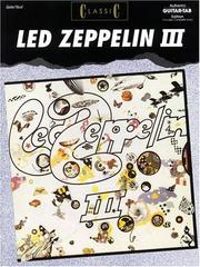 Cover of: Classic Led Zeppelin III | Joe Deloro