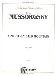 Cover of: Night on Bald Mountain by Modest Mussorgsky