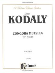 Cover of: Kodaly 10 Pieces | Zoltan Kodaly