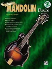 Cover of: Teach Yourself to Play Mandolin (Bluegrass Basics Ultimate Beginner) by Dennis Caplinger