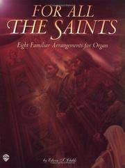 Cover of: Eight Familiar Hymn Arrangements for Organ | Edwin T. Childs