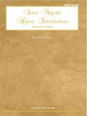 Cover of: 7 Majestic Hymn Intros V3 Organ | Jerry Westenkuehler