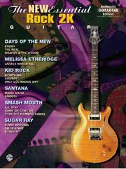 Cover of: The New Essential Rock 2K Guitar (Authentic Guitar-Tab) | Various Artists