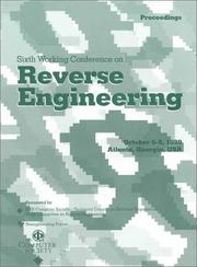 Cover of: Sixth Working Conference on Reverse Engineering | Ga.) Working Conference on Reverse Engineering 1999 (Atlanta