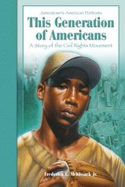 Cover of: This Generation of Americans | Fredrick L. Mckissack