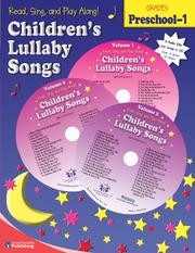 Cover of: Children's Lullaby Songs (Read, Sing, and Play Along!) | Kim Mitzo Thompson