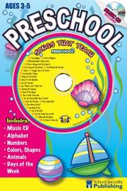 Cover of: Preschool Sing Along Activity Book with CD | Kim Mitzo Thompson