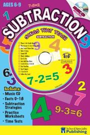 Cover of: Subtraction Sing Along Activity Book with CD | Kim Mitzo Thompson