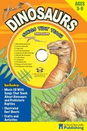 Cover of: Dinosaurs Sing Along Activity Book with CD | Kim Mitzo Thompson