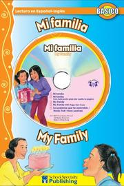 Cover of: Mi familia / My Family (Dual Language Readers) by Kim Mitzo Thompson