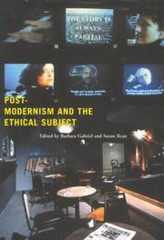 Cover of: Postmodernism and the ethical subject | Suzan Ilcan