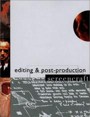 Cover of: Editing and Postproduction (Screencraft) | Declan McGrath