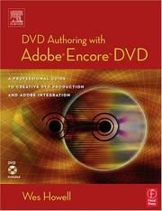 Cover of: DVD Authoring with Adobe Encore DVD by Wes Howell