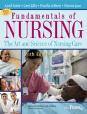 Cover of: Fundamentals of Nursing: The Art and Science of Nursing Care (Fundamentals of Nursing: The Art & Science of Nursing Care () | Priscilla LeMone