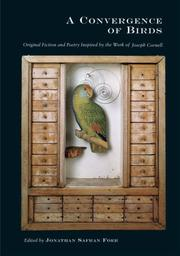 Cover of: Convergence of Birds by Jonathan Safra Foer