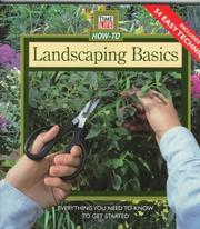 Cover of: Landscaping Basics by Time-Life Books