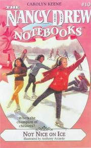 Cover of: Not Nice on Ice | Carolyn Keene