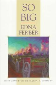 Cover of: So Big by Edna Ferber