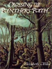 Cover of: Crossing the panther's path | Elizabeth Alder