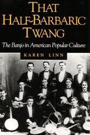 Cover of: That half-barbaric twang | Karen Linn