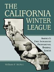 Cover of: The California Winter League | William McNeil
