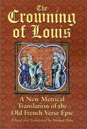 Cover of: The Crowning of Louis by Nirmal Dass