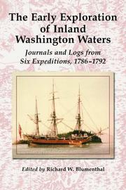 Cover of: The early exploration of inland Washington waters |