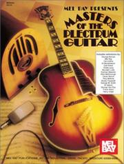 Cover of: Mel Bay Masters of the Plectrum Guitar | William Bay