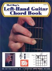 Cover of: Mel Bay Left-Hand Guitar Chord Book | William Bay