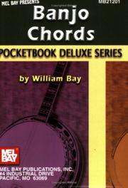 Cover of: Mel Bay Banjo Chords (Pocketbook Deluxe) | William Bay