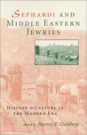 Cover of: Sephardi and Middle Eastern Jewries by Harvey E. Goldberg