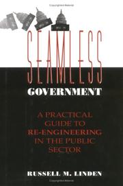 Cover of: Seamless government by Russell Matthew Linden