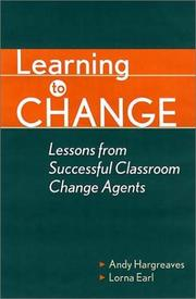 Cover of: Learning to Change by Susan Manning