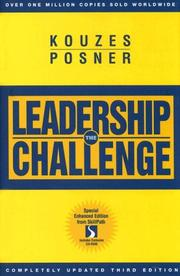 Cover of: The Leadership Challenge | James M. Kouzes