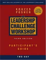 Cover of: The Leadership Challenge Workshop | James M. Kouzes