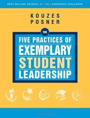 Cover of: The Five Practices of Exemplary Student Leadership by James M. Kouzes
