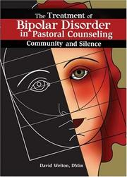 Cover of: The Treatment of Bipolar Disorder in Pastoral Counseling | David P. Welton
